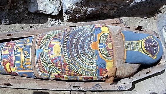 Il più bel sarcofago mai ritrovato nella storia dell'archeologia