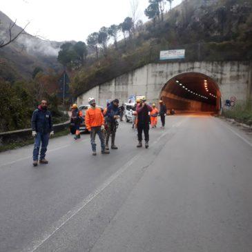 Strada provinciale Cerreto-Cusano-Pietraroja: lavori per sette giorni