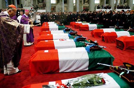 Oggi l'Italia ricorda l'anniversario della strage di Nassiiriya
