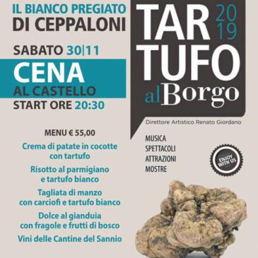 """Ceppaloni. Incontri ed eventi per """"Tartufo al Borgo"""""""