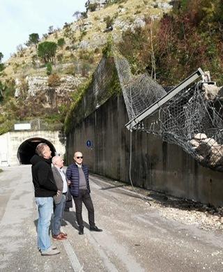 Strada provinciale Cerreto Sannita – Cusano Mutri: nuovo sopralluogo dei tecnici della Provincia di Benevento