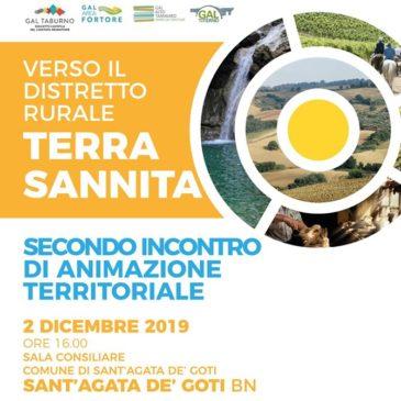 A Sant'Agata de'Goti per i Distretti Rurali e Agroalimentari di qualità.  Un'opportunità per il Sannio.
