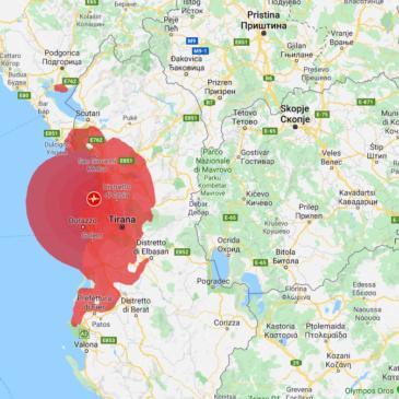 Terremoto in Albania, scossa avvertita anche in Sud Italia