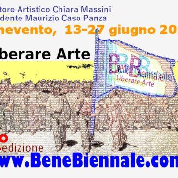 """La BeneBiennale bandisce la IV° edizione,  Fornt-Size """"Liberare Arte"""""""