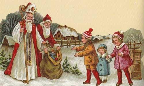 La storia di San Nicola e la leggenda di Babbo Natale