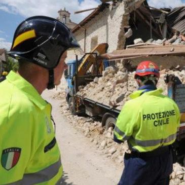 I consigli della Protezione Civile in caso di terremoto