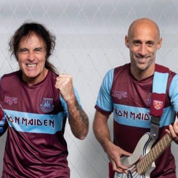 """Il West Ham diventa """"heavy metal"""": partnership con gli Iron Maiden"""