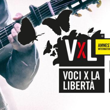 Voci per la Libertà: partono i premi Amnesty International Italia per le migliori canzoni sui diritti umani