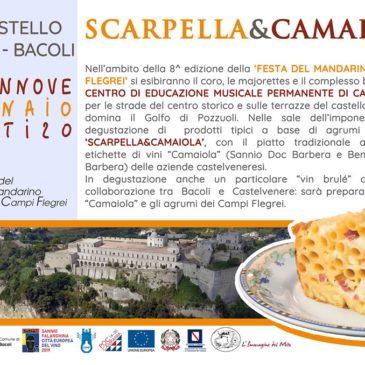"""Le tipicità di Castelvenere protagoniste alla """"Festa del mandarino"""" di Bacoli"""