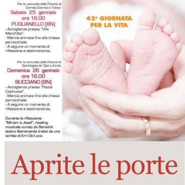 Unità dei Cristiani e Giornata per la Vita, date, orari e programma delle due iniziative