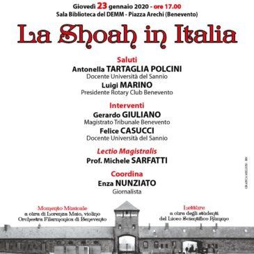 Giorno della Memoria: il prof. Michele Sarfatti a Benevento
