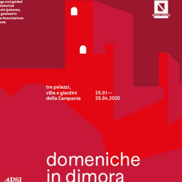 'Domeniche in dimora', da gennaio ad aprile aperture straordinarie e visite guidate in 30 siti della Campania