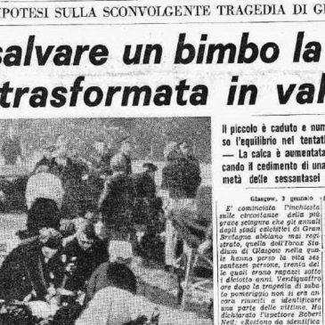 Accadde oggi: 2 gennaio 1971, la tragedia nel mondo del calcio che porta 66 morti