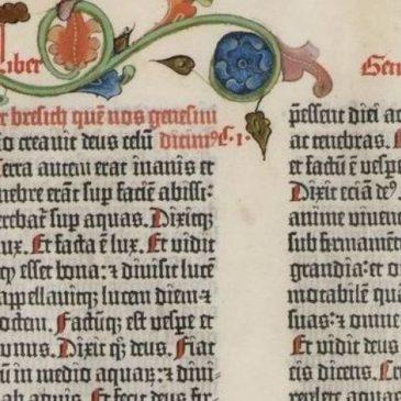 Accadde oggi: 23 febbraio 1455, la Bibbia, il primo stampato della storia