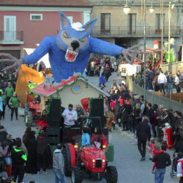 Ponte. Continua il 41esimo Carnevale Pontese