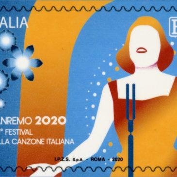 Poste Italiane: emesso un francobollo celebrativo del Festival della canzone italiana