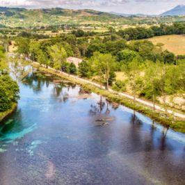 Immagini dal Sannio: il fiume Volturno con i suoi paesaggi e panorami
