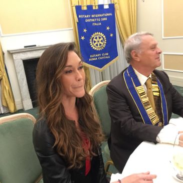 Alessia Zecchini: il Rotary Club Roma Capitale rende omaggio alla campionessa mondiale di apnea.
