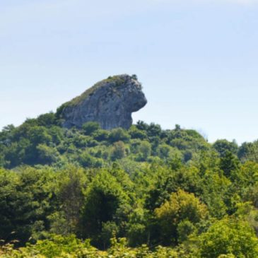 Immagini dal Sannio: la Leonessa, la morgia sannita ricca di storia
