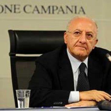 De Luca boccia le ultime decisioni del Ministero dell'Interno