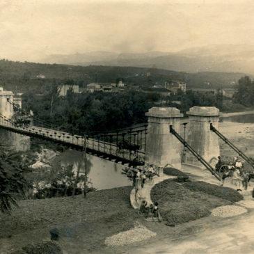 Immagini dal Sannio: il ponte Maria Cristina di Solopaca e la sua avventurosa storia