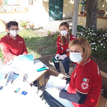 Telese Terme: la consegna delle mascherine da parte dei volontari
