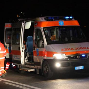 Drammatico incidente in Campania: 22enne in rianimazione