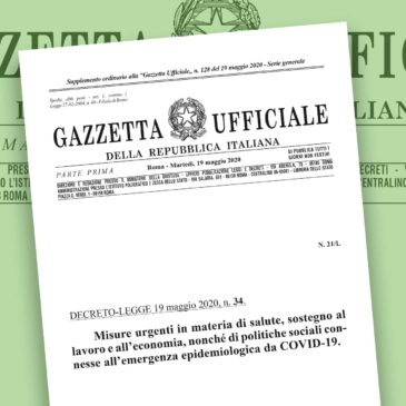 Decreto Rilancio: le misure per i pazienti e i loro familiari