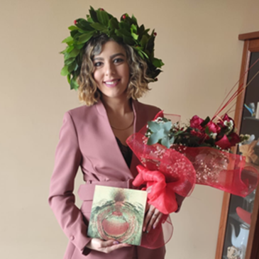 Laurea on line per Giovanna Rosella in tempo di Covid 19