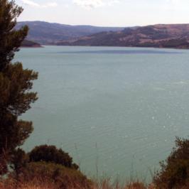 Immagini dal Sannio: il Fortore e il lago di Occhito