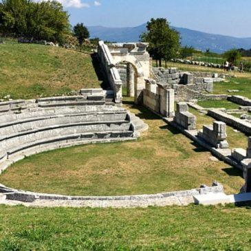 L'appello per la riapertura del sito archeologico di Pietrabbondante