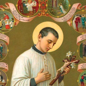 Oggi è San Luigi Gonzaga, protettore di giovani e appestati