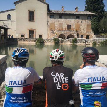Carditello Reale, in bici da Torino a Caserta per promuovere la Reggia di Carditello