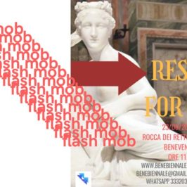 "Arriva il Flash Mob ""Respect for Art"""