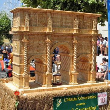 Il culto di San Rocco a Foglianise e la tradizionale sfilata dei carri di grano impagliato