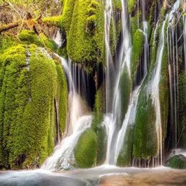 Immagini dal Sannio: il percorso delle cascate molisane