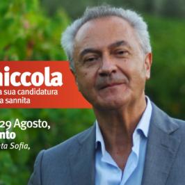 Regionali 2020: Amedeo Ceniccola presenta la sua candidatura