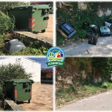 Faicchio, #ComuneDay: installazione fototrappole contro l'abbandono di rifiuti