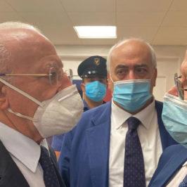 Incontro Panza – De Luca: riattivazione ospedali e valorizzazione consorzi di tutela