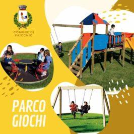 Faicchio, nasce un parco giochi per bambini