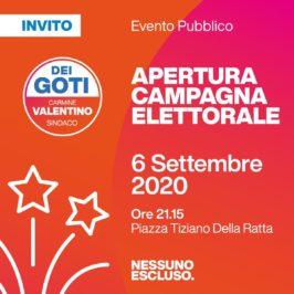 """Domani la presentazione della lista """"Dei Goti con Carmine Valentino sindaco"""""""
