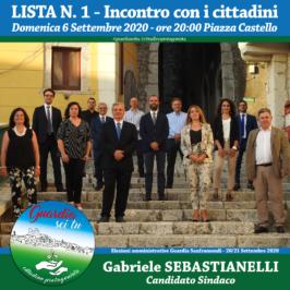 """""""Guardia sei tu"""" incontra i cittadini domenica 6 settembre in piazza Castello"""