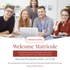 "Università Giustino Fortunato: ""Welcome Matricole"""