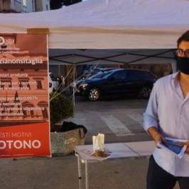 """""""NOstra"""" di Benevento: banchetti informativi in merito al Referendum"""