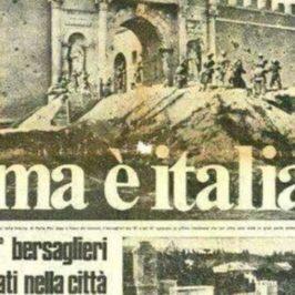 Accadde oggi: 20 settembre 1870 i bersaglieri entrano a Roma dalla breccia di Porta Pia