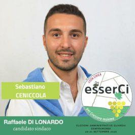 """La lista """"esserCi"""" presenta il candidato Sebastiano Ceniccola"""