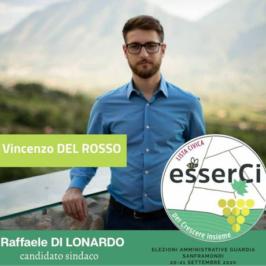 """La lista """"esserCi"""" presenta il candidato Vincenzo Del Rosso"""