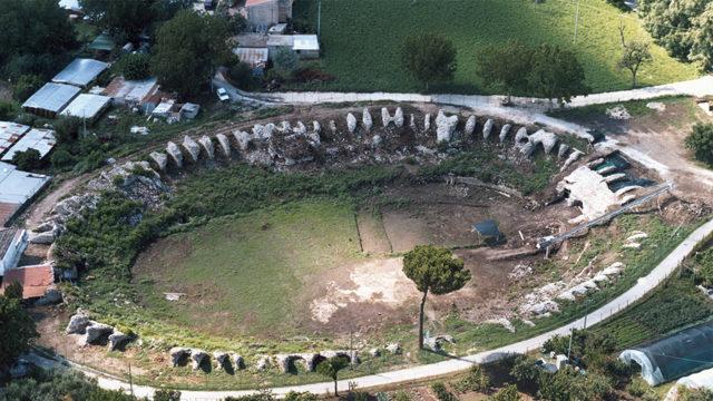 Immagini dal Sannio: il fascino senza tempo dell'antica Telesia