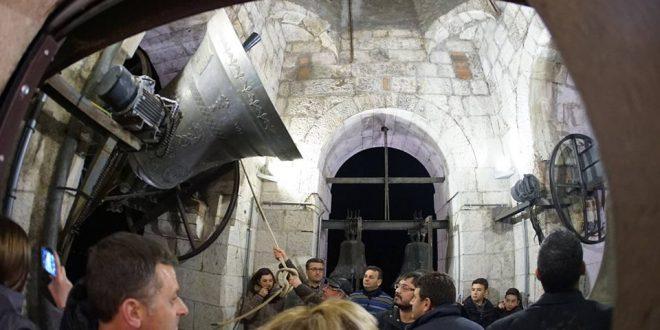 Immagini dal Sannio: Sepino e la notte delle campane di Santa Cristina
