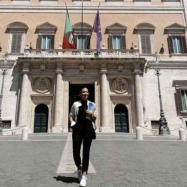 Fiorenza Ceniccola in missione a Roma per incontrare Luca Josi